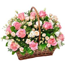Flower basket.
