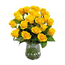 21 yellow rose